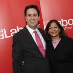 Valerie with new Labour Leader Ed Milliband