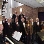 Valerie with the Walsall Harmonic Male Voice Choir