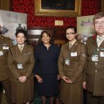 Valerie meets local Reservists and Cadets at a Parliamentary reception hosted by the West Midlands Reserve Forces and Cadets Association