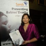 Valerie at the Sands parliamentary reception