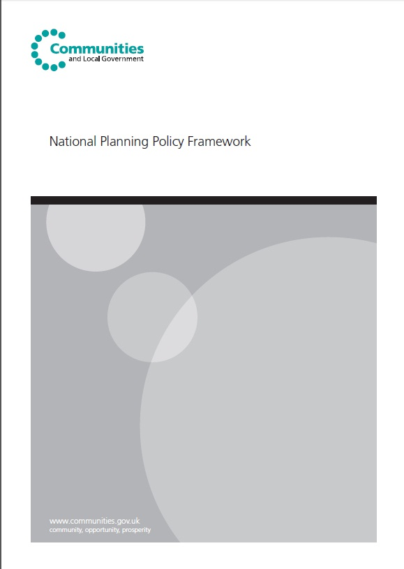 The Government National Planning Policy Framework document