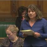 Valerie speaking in NHS debate