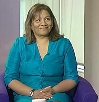 Valerie at Sunday Politics show
