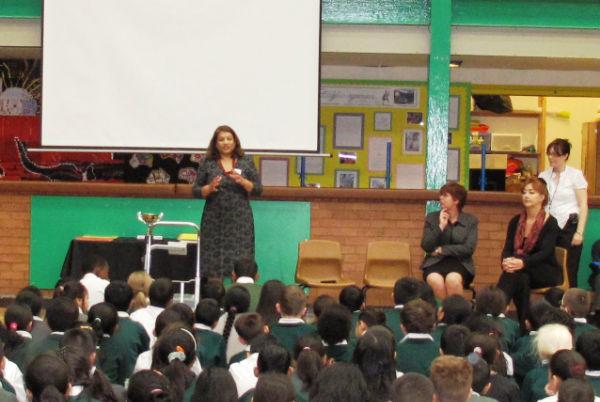 Valerie at Whitehall Juniors