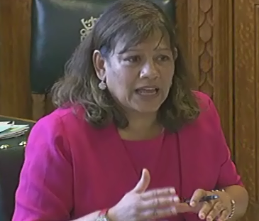 Valerie questions the CQC at the Health Select Committee