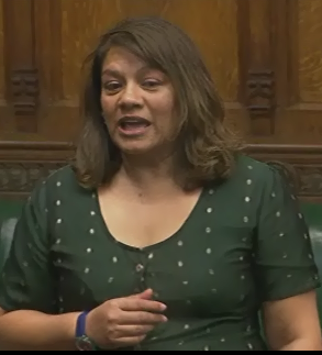 Valerie questions the Leader of the House on Sunday trading