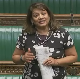 Valerie questions the Secretary of State for Communities and Local Government on planning