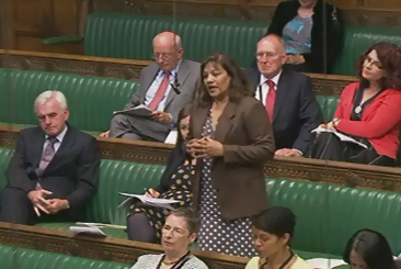 Valerie at Oral Questions for the Secretary of State for Education