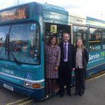 310 bus - VV in door
