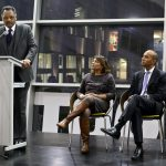 Rvd Jackson speech with Chuka and Valerie