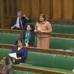 Valerie asks question of Leader of the House