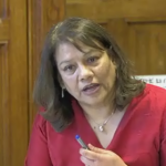 Valerie speaks at Health Committee