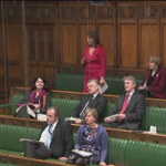 Valerie urges Leader of the House for debate re. Money is no object