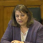 Valerie speaks at Health Committee regarding care.data 3