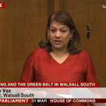 Valerie's Adjournment Debate regarding the Green Belt Planning