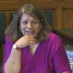 Valerie at the Health Select Committee - 8th April 2014