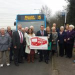 Valerie, Michael Dugher MP and residents