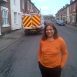 Valerie visits Dalkeith Street