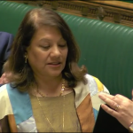 Valerie being sworn in - 19 May 2015