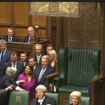 Valerie dragging the Speaker to the Chair - 18 May 2015