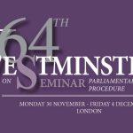 64th Westminster Seminar
