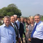 EFRA Committee visit Somerset