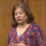 VV speaks in chamber