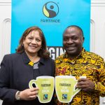 Valeria Vaz MP with Leonard Kachebonaho APPG 2017