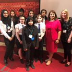 Valerie Vaz MP with Students from Walsall E-Act Academy