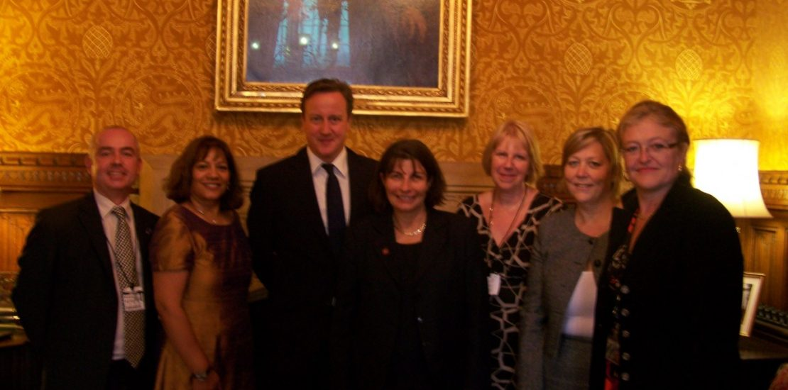 Simon Wigglesworth (Epilepsy Action), Valerie Vaz MP, Rt Hon David Cameron MP, Professor Helen Cross, Sharon Wood (Joint Epilepsy Council), Karen Deacon (National Centre for Young People with Epilepsy), Laura Sandys MP