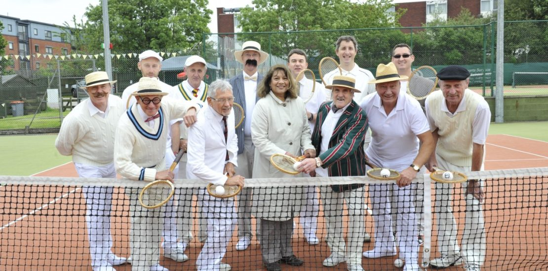 Valerie at Walsall Tennis Club