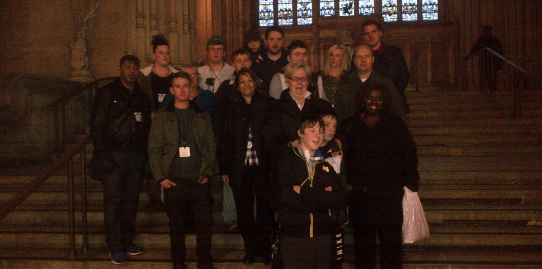 Second Chance School visit Westminster