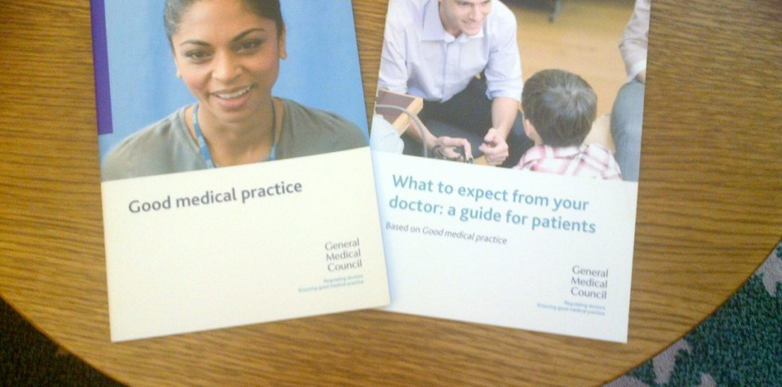 General Medical Council Good Medical Practice For Doctors And Patients Published Valerie Vaz Mp